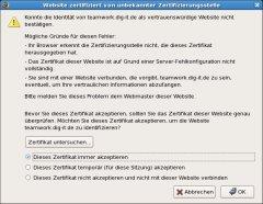 Server-Zertifikate erneuert